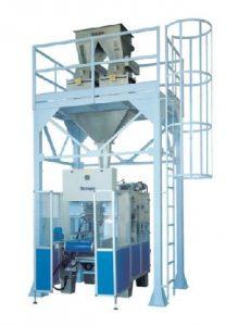 TECNO EASY maszyna automatyczna pakująca produkt w worki wykonane z rękawa foliowego, prędkość pakowania 1200 w/h