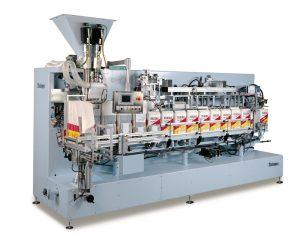 Automatyczna maszyna pakująca produkty o wadze 1 kg z możliwością poszerzenia zakresu ważenia od 0,5 do 5 kg