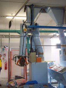 Rozwiązanie modułowe - rozbudowa maszyny pakującej wentylowej o pakowanie produktu w worki otwarte