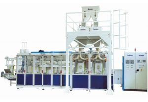 FUTURA SPEED - automat. maszyna pakująca produkty w worki otwarte o wadze 15-50 kg z prędkością 1100 w/h
