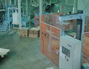 Panel kontrolno-sterujący pracą paletyzera (panel operatora)